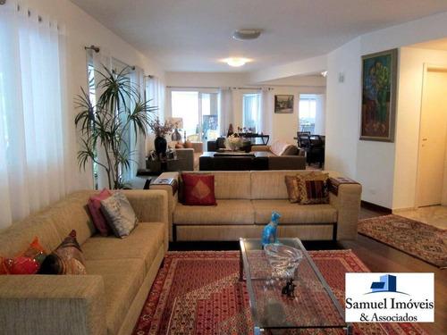 Imagem 1 de 14 de Apartamento Com 4 Dormitórios, 307 M² - Venda Por R$ 4.600.000,00 Ou Aluguel Por R$ 17.900,00/mês - Paraíso - São Paulo/sp - Ap0989