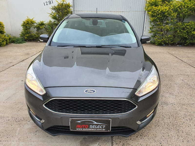 Ford Focus 1.6 Se Plus Com Multimídia Placa I - 2018