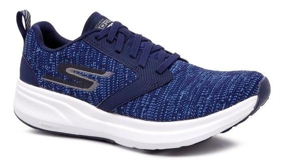 Tênis Skechers Go Run Ride 7 Gtm-55200 Azul Marinho