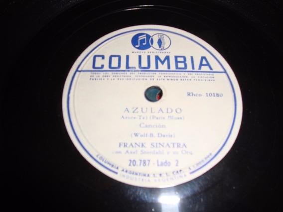 Disco Pasta 78 Rpm Frank Sinatra Columbia C89