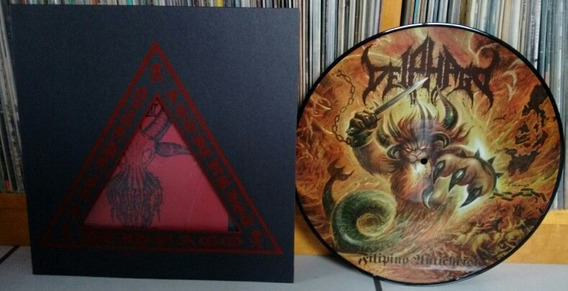 Lp Deiphago Filipino Antichrist Picture Imp Black Metal