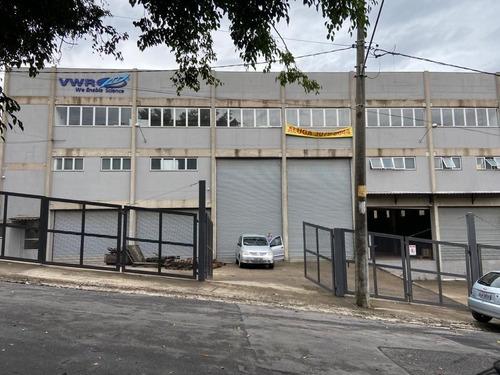 Imagem 1 de 24 de Galpão Para Alugar, 1730 M² Por R$ 35.000,00/mês - Parque Industrial Daci - Taboão Da Serra/sp - Ga0478