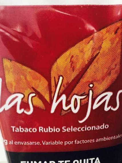 Tabaco Las Hojas Rubio X 50 Gramos/ X10 U. Tabaco Para Armar