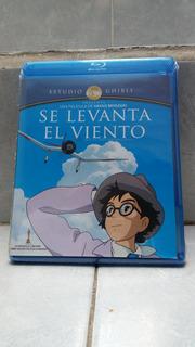 Blu-ray Se Levanta El Viento Español Original Ghibli