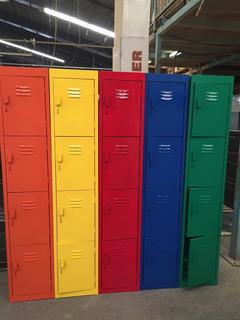 Lockers 4 Puertas Productos Metalicos Collera Cdmx