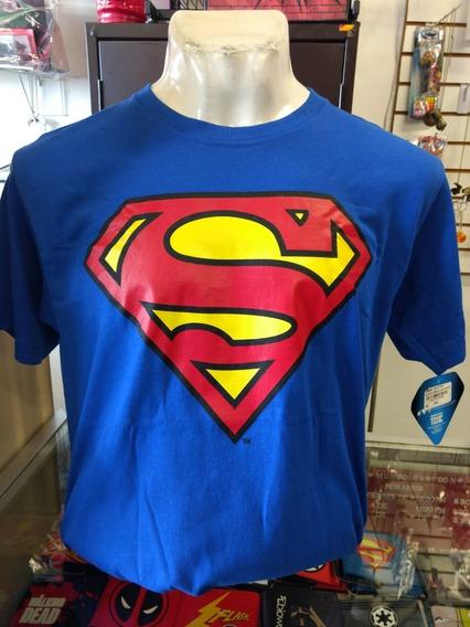 Playera Hombre Dc Superman