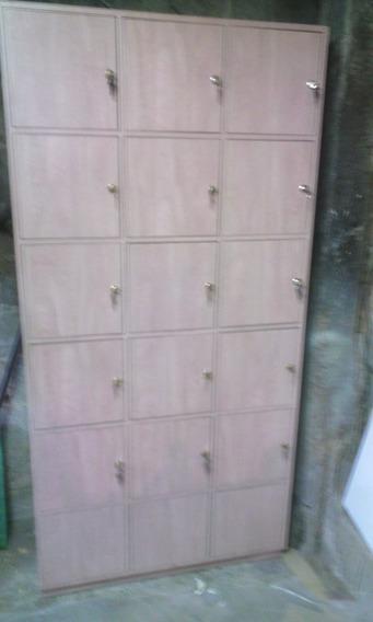 Lockers De Mdf Ideal Para Guardar Bolsos Y Carteras 18 Espac