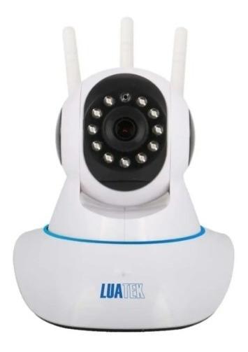 Câmera Ip Ptz Hd Wireless 3 Antenas Luatek Lkw-1310