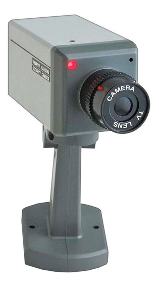 Camara De Seguridad Falsa, Estandar, Con Led