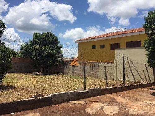 Terreno À Venda, 137 M² Por R$ 110.000,00 - Jardim Zara - Ribeirão Preto/sp - Te0987