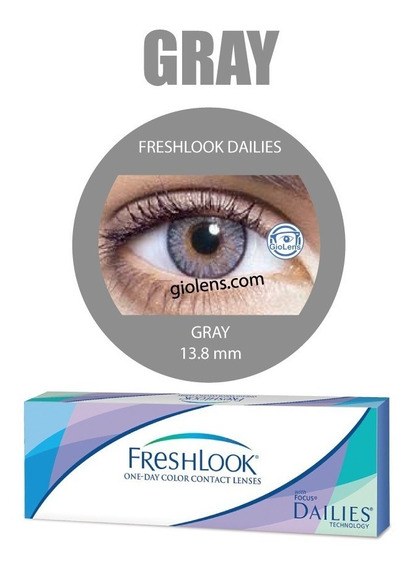 Pupilentes Freshlook One Day 5 Pares Envio Gratis