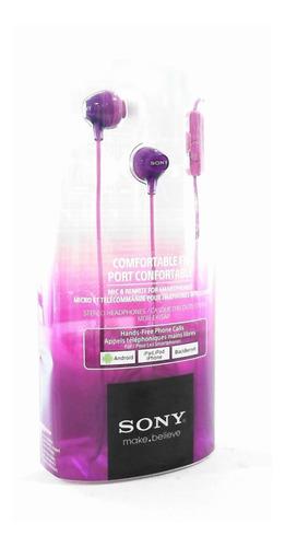 Imagen 1 de 4 de Sony Moda Earbud Auriculares Con Control De Smartphone