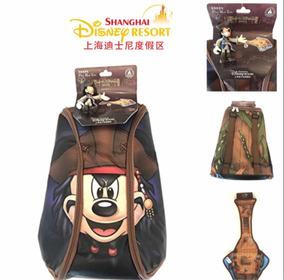 Mochila Mickey Pirata Original Disney Parks Shanghai!