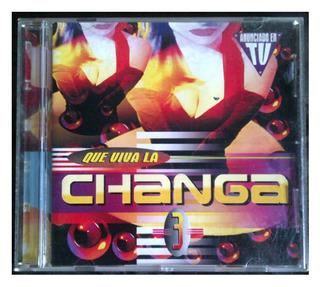 Cd - Que Viva La Changa - Vol 3 - 1998 - Original