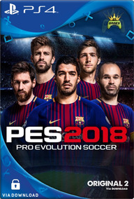 Pro Evolution Soccer 2018 Pes 18 Ps4 Psn Digital Code 2 Já!!