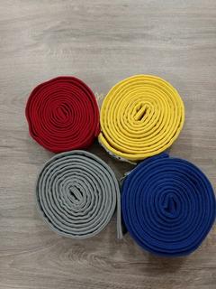 Faixas De Karate Verm/cinz/amar/azul