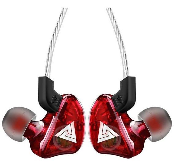 Fone In Ear Qkz - Monitor De Palco\retorno Profissional