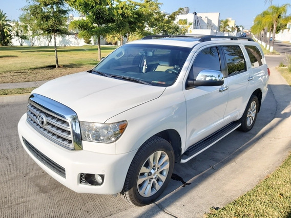 Toyota Sequoia 2013 Limited Aa R-20 Piel Qc Dvd At
