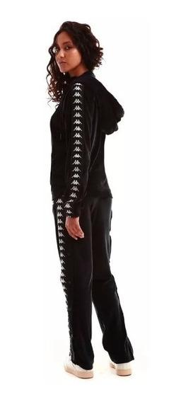 Pantalon Kappa Authentic De Plush De Mujer Con Botones !