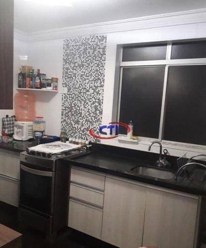 Apartamento Com 2 Dormitórios À Venda, 56 M² Por R$ 225.000,00 - Santa Terezinha - São Bernardo Do Campo/sp - Ap3444