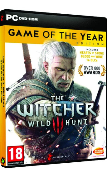 The Witcher 3: Wild Hunt - Game Of The Year Edition - Pc Dvd