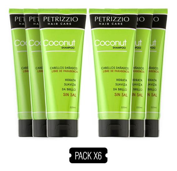 Shampoo Coco Petrizzio Pack 6