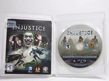 Injustice Gods Among Us Ps3 Portugues Midia Fisica