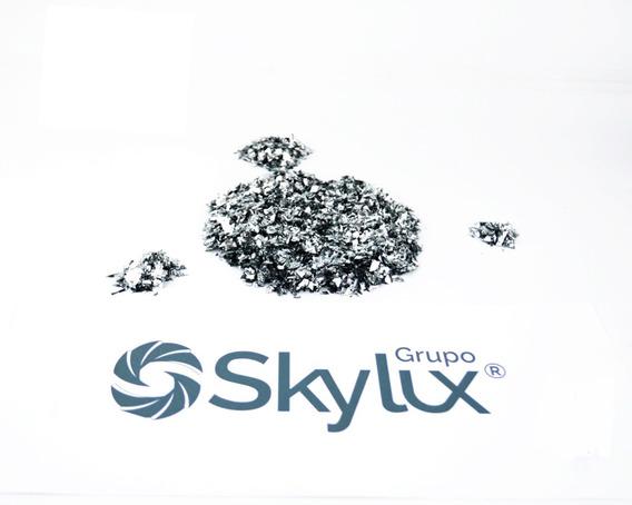 Bolsa De 4kg De Confeti Mini Metalico Plata