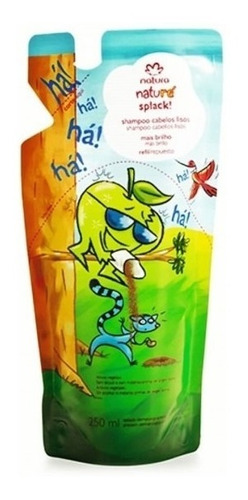 Imagen 1 de 1 de Repuesto Shampoo Cabello Liso Niños Natu - mL a $60