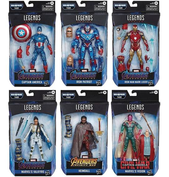 Avengers Endgame Marvel Legends Thor Series Set De 6 Figuras