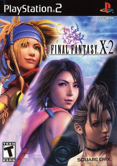 Final Fantasy X2 Ps2 Americano Completo Original