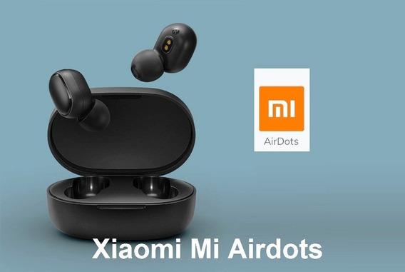 Xiaomi Airdots/earbuds Fone Sem Fio *pronta Entrega*