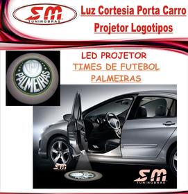 Projetor Porta De Carro Luz Cortesia Time De Palmeiras