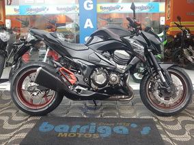 Kawasaki Z 800 Abs 2013 Preta Impecável