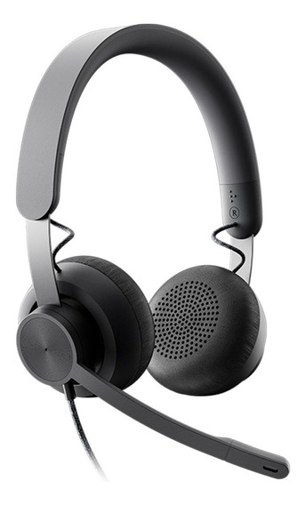 Auriculares Headset Logitech Zone Wired Con Microfono Pc