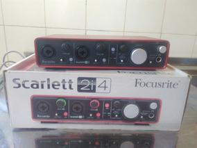 Interface De Audio - Scarlett 2i4 - Focusrite