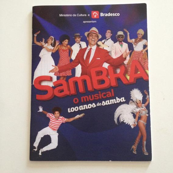 Catálogo Sambra O Musical 100 Anos De Samba C2