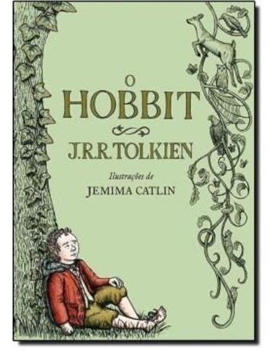 Livro O Hobbit - Ilustrado J. R. R. Tolkien