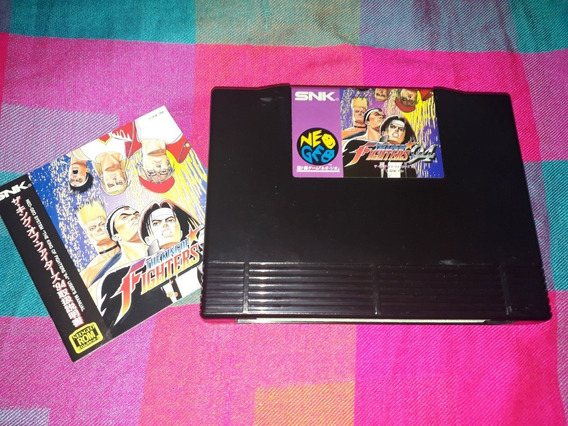 The King Of Fighters 94 Com Manual Originais Neo Geo Aes