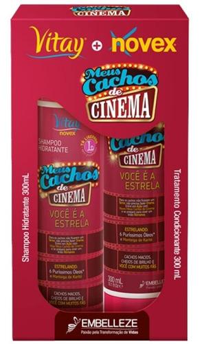 Imagen 1 de 3 de Novex Meus Cachos De Cinema Kit Shampoo - mL a $42