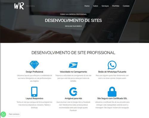 Imagem 1 de 3 de Criação De Sites - Wordpress