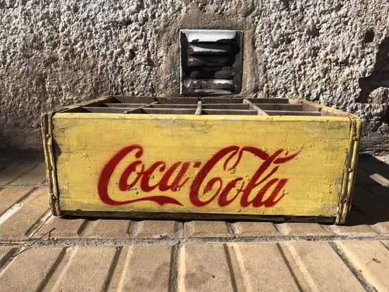 Cajón Coca Cola Antiguo Deco Vintage Mil Ideas