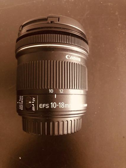 Canon 10-18 Baixou Para 1.100