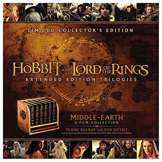 Blu-ray : Middle-earth Limited Collector