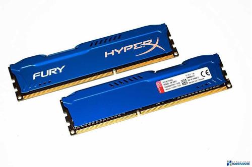 Imagen 1 de 1 de Memoria Ddr3 8 Gb 1600 Mhz Hyper-x Original Kigstong
