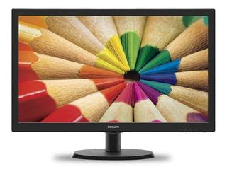 Monitor Led 19 Philips 193v5lhsb2 16:9 Hdmi Y Vga 60hz