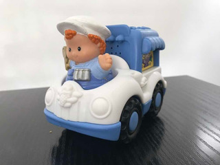 Little People Fisher Price Camion Heladero C/muñeco Y Sonido