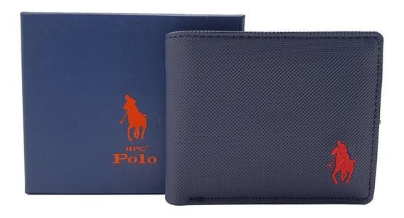 Cartera Hpc Polo Passcase Azul Marino