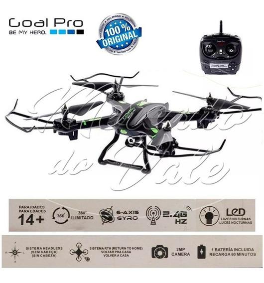 Drone Goalpro Avatar H28 2.4ghz De 6 Eixos Com Câmera Wifi