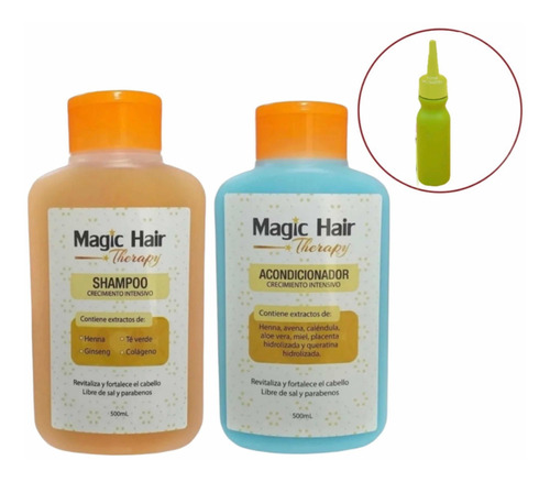 Magic Hair Shampo Y Acondicionador Nueva - mL a $58